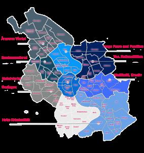 Karte friseure Köln