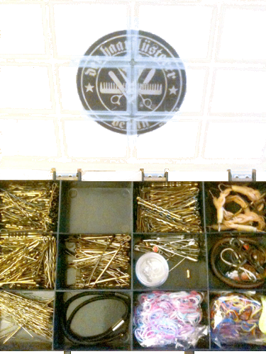 Steckkasten-haarnadeln hochstecken gold