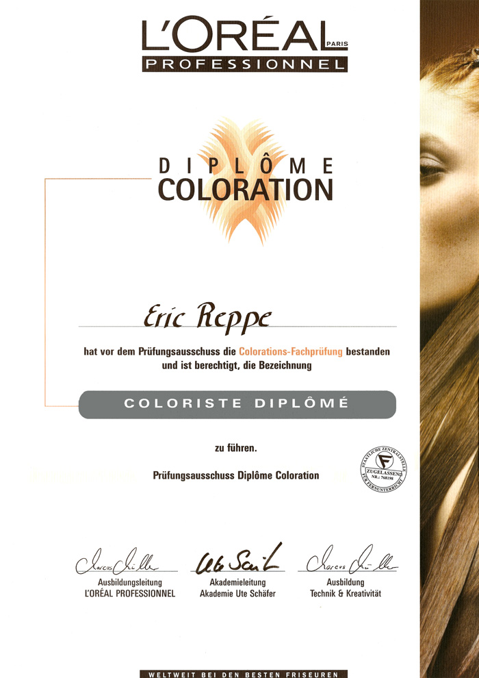 Diplome Coloration-DIPLOM