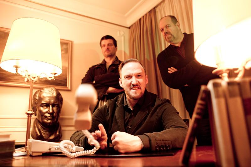 Peter Kollmann, Peter Bosch und Matthew Dean