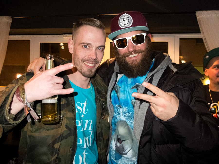 MC FITTI und DER HAARFLÜSTERER - Photo by Lukasz Wolejko Wolejszo