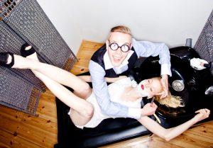 Damenbart - Starring: Lysann Geller & Der Haarflüsterer® Berlin – Styling: Henning Schulz – Photo: Oliver Rath