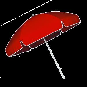 Sonnenschirm rot