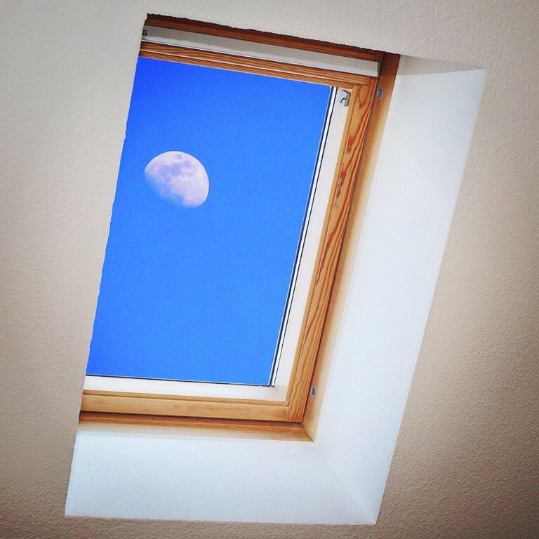 Der Monduntergang im Dach Photo: Eric Reppe