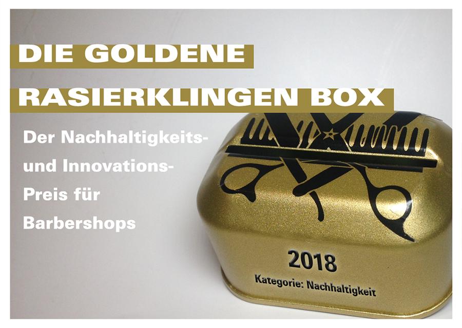 Die Goldene Rasierklingenbox 2019
