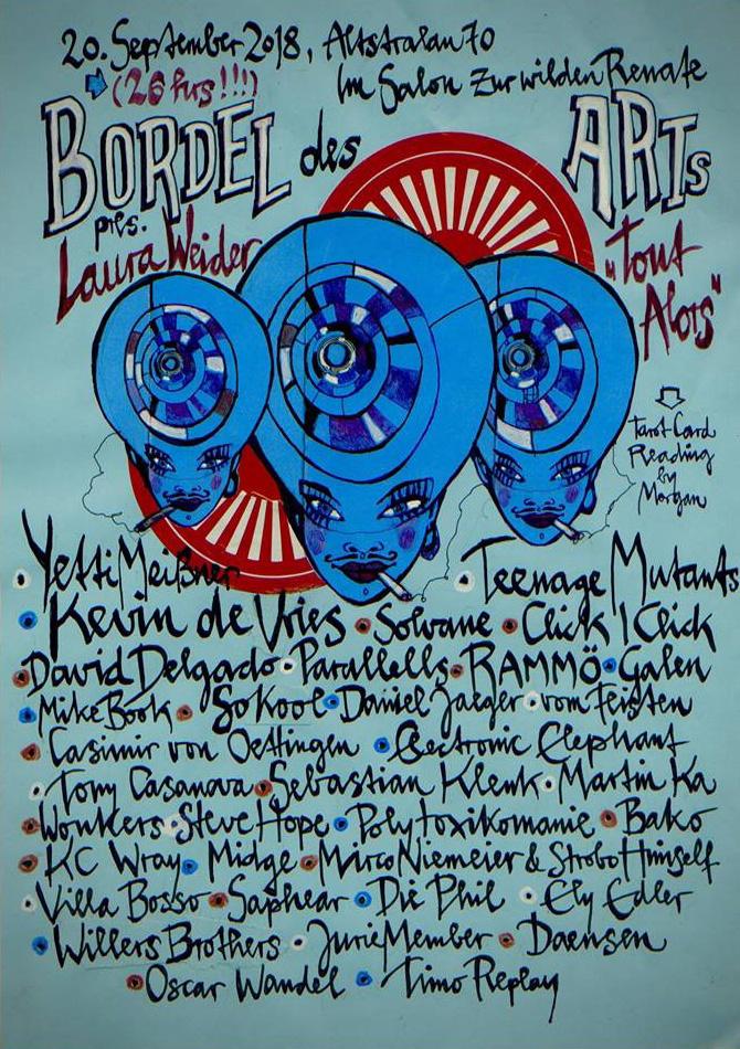 """BORDEL DES ARTS pres. Laura Weider """"TOUT ALORS"""""""