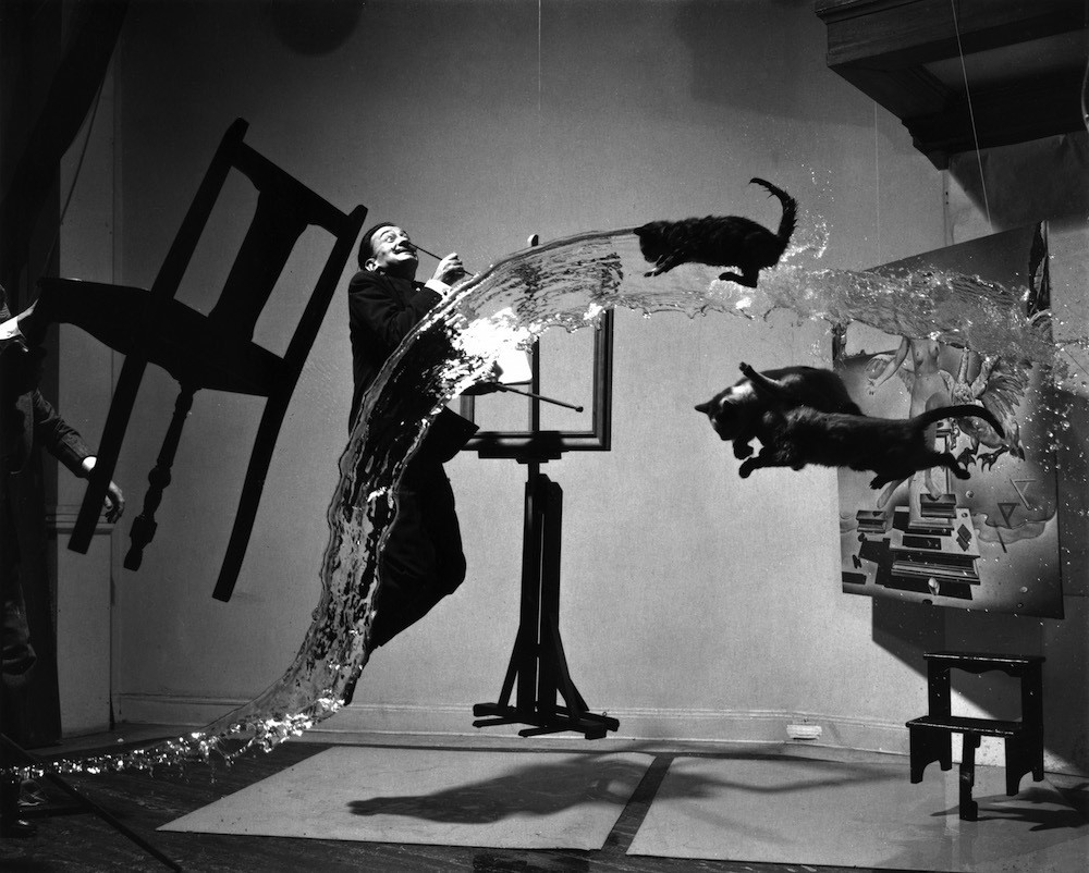 """Dalí Atomicus,"" Philippe Halsman, 1948. Foto: Library of Congress 