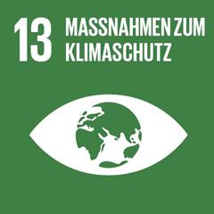 SDG 13: Umgehend Maßnahmen zur Bekämpfung des Klimawandels und seiner Auswirkungen ergreifen