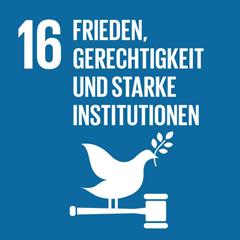 SDG 16: Friedliche und inklusive Gesellschaften für eine nachhaltige Entwicklung fördern