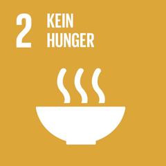 SDG 2: Den Hunger beenden, Ernährungssicherheit und eine bessere Ernährung erreichen und eine nachhaltige Landwirtschaft fördern