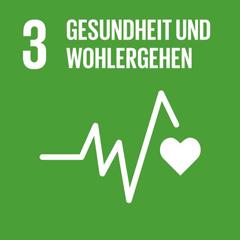 SDG 3: Ein gesundes Leben für alle Menschen jeden Alters gewährleisten und ihr wohlergehen fördern