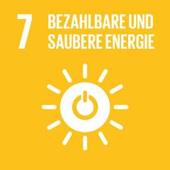 SDG 7: Zugang zu bezahlbarer, verlässlicher, nachhaltiger und moderner Energie für alle sichern
