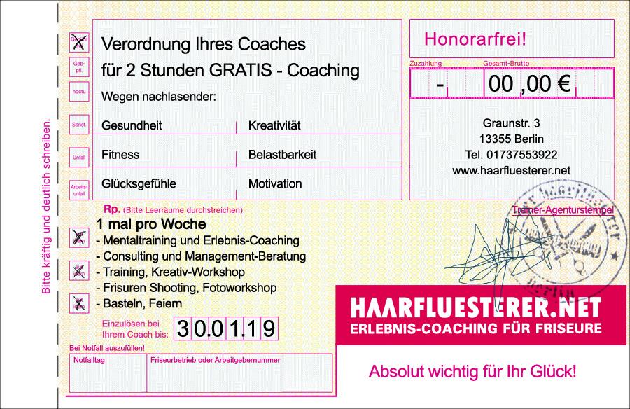 2 Stunden GRATIS - Coaching